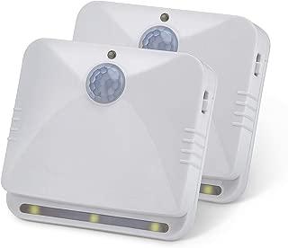 Sensor Brite Wireless Motion-Sensing Path/Step LED Light, Stick Anywhere, Battery-Operated Night Light (2 Pack)