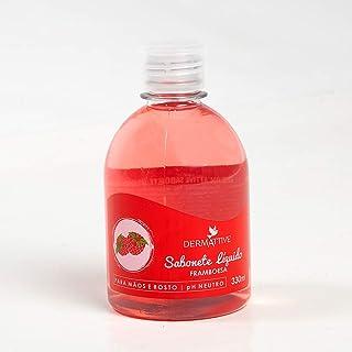 Sabonete Líquido Framboesa 330G, Dermattive Br, Vermelho Marsala