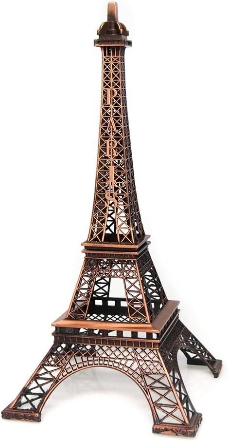 safety Firefly Imports Homeford Eiffel Under blast sales Tower Metal Stand Brown Display