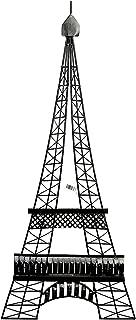 Bellaa 27352 Paris Eiffel Tower Metal Wall Art Iron Wall Deco 39 Inch Tall