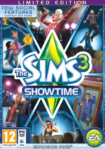 NEW & SEALED! The Sims 3 Showtime Limited Edition PC Mac DVD Game UK PAL