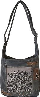 Sunsa Damen Hobo Tasche Umhängetasche, Handtasche aus Canvas & Leder. Nachhaltige Produkte, Groß Vintage Shoulder bag, Sch...