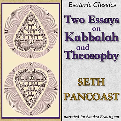 Couverture de Two Essays on Kabbalah and Theosophy