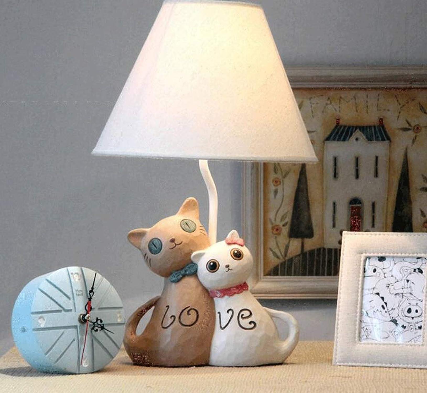 forma única TXXM Lámparas de escritorio Lámpara de de de Mesa de Regalo de cumpleaos de la Boda lámpara de cabecera del Dormitorio Regalo de la Manera romántica Linda cálida lámpara de Mesa de la lámpara E27 LED  venta caliente