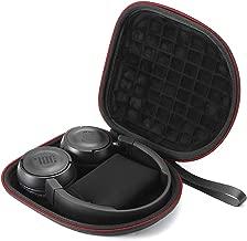 Hard Travel Carrying Case for JBL T450BT /JBL T500BT Over Ear Bluetooth Wireless Headphones, Protective Storage Bag - Black(Black Lining)