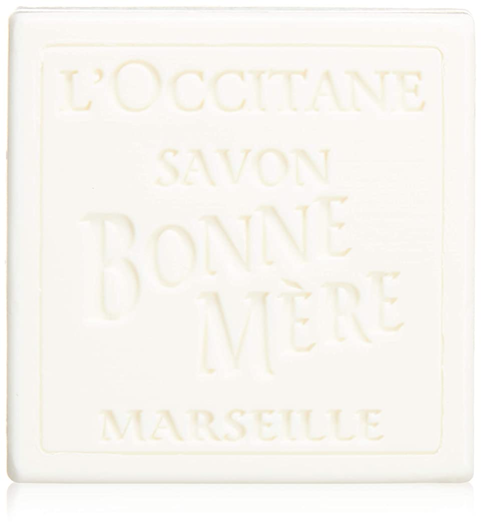 小包スナップパラシュートロクシタン(L'OCCITANE) ボンメールソープ ミルク 100g