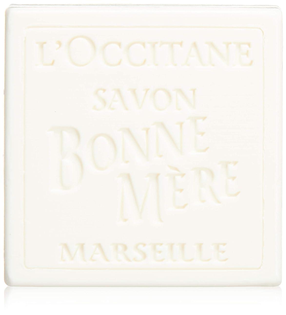 エレベーター処理する腰ロクシタン(L'OCCITANE) ボンメールソープ ミルク 100g