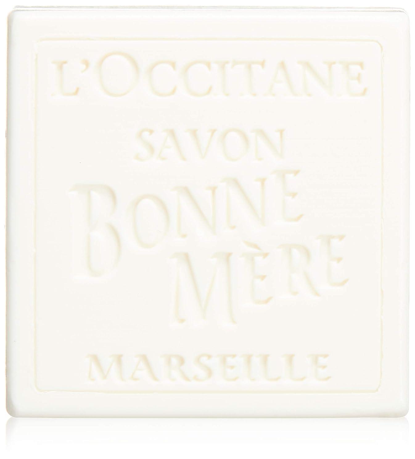 歌手スイス人ロクシタン(L'OCCITANE) ボンメールソープ ミルク 100g