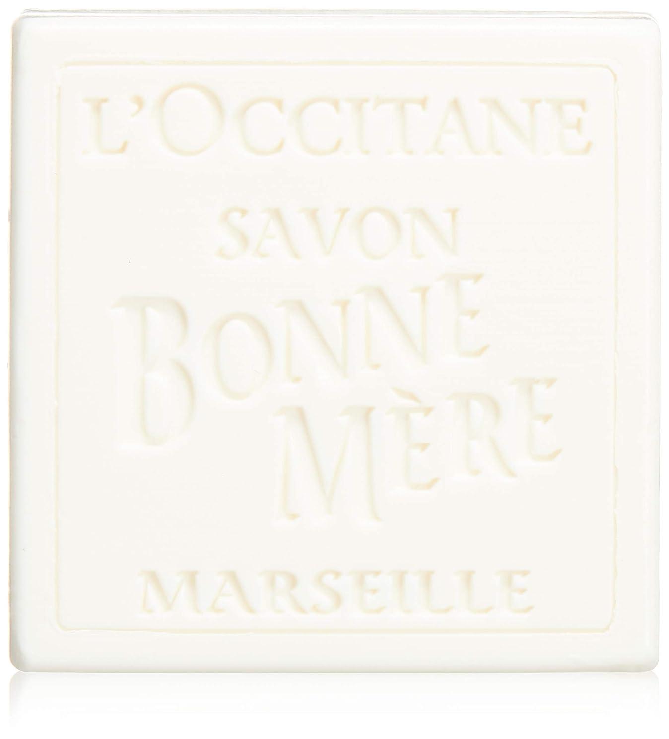 パイル一方、コカインロクシタン(L'OCCITANE) ボンメールソープ ミルク 100g