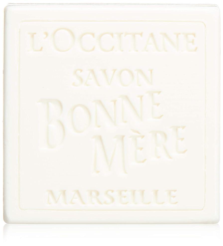 報復するクランシー皮肉なロクシタン(L'OCCITANE) ボンメールソープ ミルク 100g