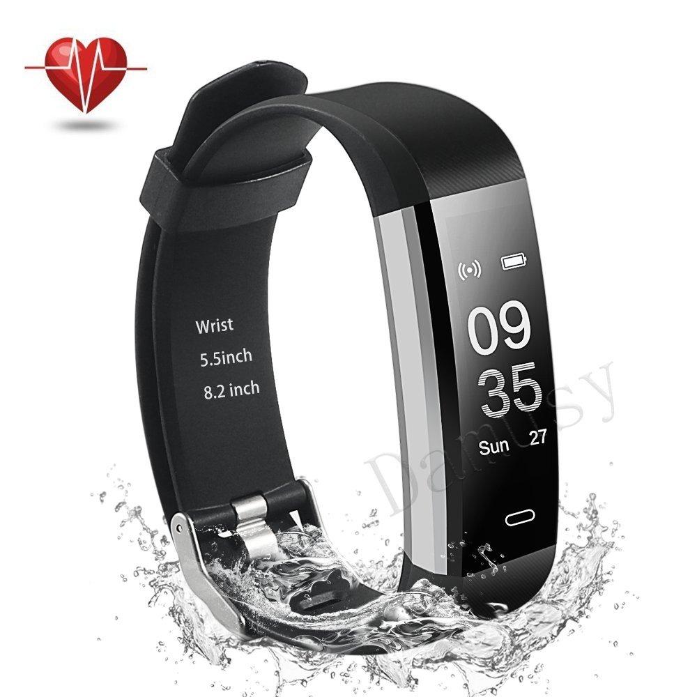 Damusy Bluetooth Waterproof Pedometer Wristband
