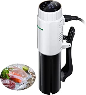 Sous Vide Cooker, AuAg Immersion Circulator 950W with Preset Recipes and Accuracy Temperature Control, Digital Touch Screen Display and Removable Cord, BPA-Free