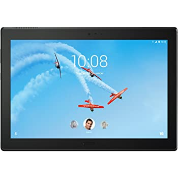 Lenovo Tab 4 Plus, 10-Inch Android Tablet, 64-bit Octa-Core Snapdragon, 2.0 GHz, 64 GB Storage, Black, ZA2T0003US