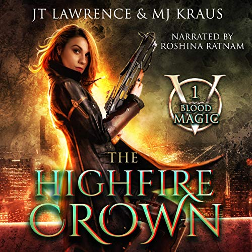 The HighFire Crown audiobook cover art