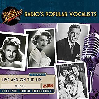 Radio's Popular Vocalists                   De :                                                                                                                                 multiple radio networks                               Lu par :                                                                                                                                 Dinah Shore,                                                                                        The Andrews Sisters,                                                                                        Rosemary Clooney,                   and others                 Durée : 9 h et 54 min     Pas de notations     Global 0,0