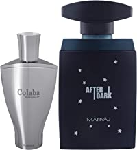 Ajmal Colaba Mukhallat Concentrated Perfume Oil Floral Oriental Alcohol-free Attar 14ml for Unisex and Maryaj After Dark E...