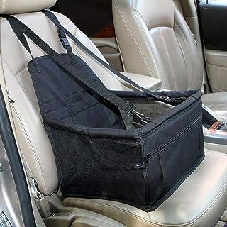 ZHIXX MALL Hunde Autositz ,Hundesitz Auto für kleine und mittlere Hunde & Katzen ,Hunde Tragbare Autositze Hund praktischen  40 * 35 * 25cm ,600D Oxford Tuch