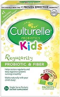 Culturelle 康萃乐 儿童益生菌和纤维膳食补充剂 与儿童身体协作 24个