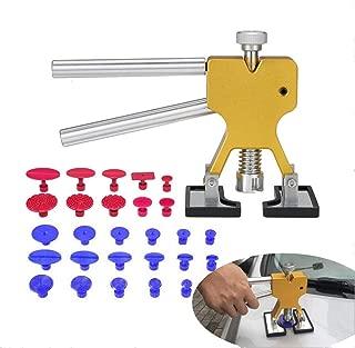 Moto Corps GSNML Kit Debosselage sans Peinture R/éparation Dent De Paintless,21pcs Paintless D/ébosselage R/éparation Tools Kit,kit de r/éparer la dent pour Voiture,r/éfrig/érateur