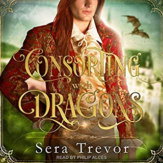 Consorting with Dragons audiobook cover art