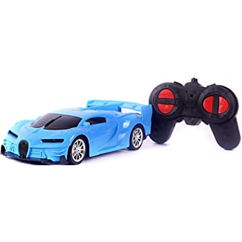 """Funkey™4 Function Remote Car can go Forward Backward Left Right"""" Racing Sports Car, Remote car for Kids ( Assorted Colors ) Battery not Included ]"""