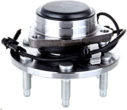 ECCPP Wheel Hub and Bearing Assembly Front 515054 fit 1999-2012 Chevy Sierra GMC Silverado Cadillac Replacement for 6 Lugs Wheel Hubs with ABS