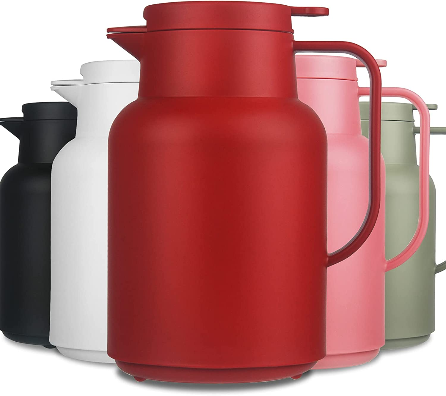 Reeho 50 oz Max 89% OFF Spring new work one after another Thermal Coffee Carafe Liner Vac Walled Glass Double