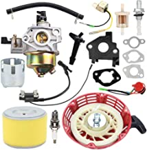 Trustsheer GX270 9HP Carburetor Carb w Air Filter Ignition Coil Recoil Starter Cup for Honda GX 240 GX240 8HP GX 270 9.0HP Engine Replace 16100-ZE2-W71 16100-ZH9-W21