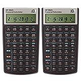 HP 10bII+ Financial Calculator (NW239AA) Pack of 2