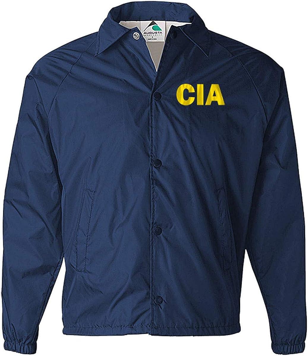 CIA Jacket Windbreaker, Government Agent Jacket, Secret Service Jacket