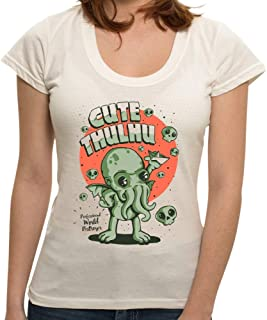 Camiseta Cute Cthulhu - Feminina