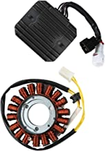 XMT-MOTO Motorcycle magneto stator coil and Voltage Regulator Rectifier with Gasket for SUZUKI GSXR600 GSX-R 600/750 2006-2010