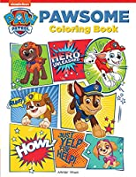 Pawsome: Paw Patrol Coloring Book For Kids