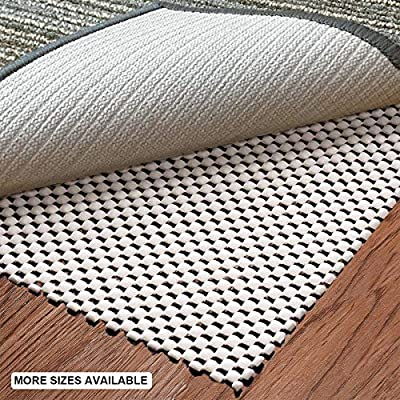 aurrako Non Slip Rug Pads 6x9 Ft,Extra Thick Rug Gripper for Area Rugs,Rug Gripper for Carpeted Vinyl Tile and Any Hard Surface Floors Under Area Rugs,Runner Anti Slip Non Skid Carpet Mat (6'x9'-1)