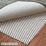 aurrako Non Slip Rug Pads 8x10 Ft Extra Thick Rug Gripper for Area Rugs,Rug Grippers Carpeted Vinyl Tile and Any Hard Surface Floors Under Area Rugs,Runner Anti Slip Non Skid Carpet Mat (8'x10')