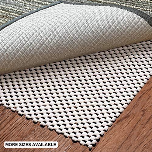 aurrako Non Slip Rug Pads Extra 6x9 Ft Thick Gripper for Hardwood Floors,Rug Gripper for Carpeted Vinyl Tile and Any Hard Surface Floors Under Area Rugs,Runner Anti Slip Non Skid Carpet Mat