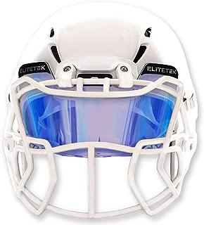 EliteTek Color Football Helmet Visor - Fits Youth Football Helmet & Adult