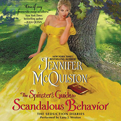The Spinster's Guide to Scandalous Behavior audiobook cover art