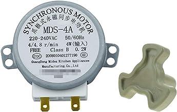 XINGFUQY MDS-4A AC220-240V 4/4.8RPM Micro Turnato Giratorio Bandeja síncrona Motor Microondas Accesorios de Horno Repuestos Repuestos Core Acoplamiento Embrague