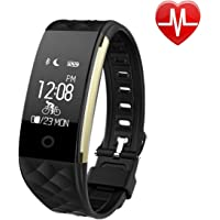 EooCoo Smart Bracelet Fitness Activity Tracker with Health Sleep Monitor for iOS and Android (EC02)