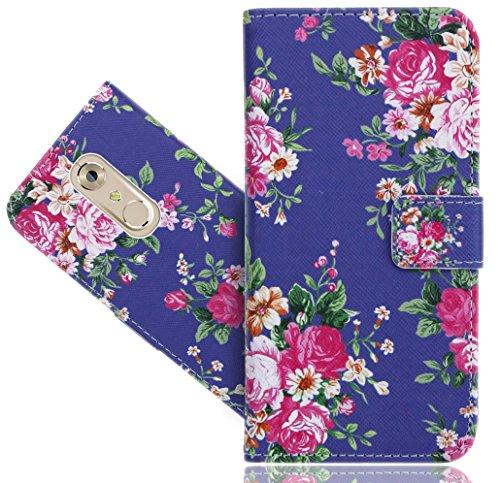 FoneExpert® ZTE Axon 7 Mini Handy Tasche, Wallet Hülle Flip Cover Hüllen Etui Hülle Ledertasche Lederhülle Schutzhülle Für ZTE Axon 7 Mini