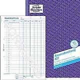 Avery Zweckform 427 Kassabücher Kassenbuch A4/2x50 Blatt
