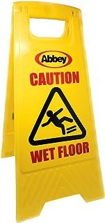Wet Floor Sign 'Caution Wet Floor' - Size 640mm(h) - Safety Floor Sign