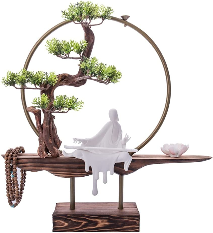 WENMENG2021 Fake Bonsai Popular Ranking TOP5 product Artificial Tree Zen Tr Simulation