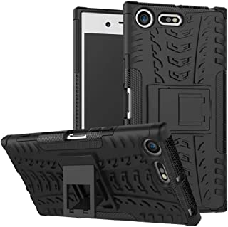 Soosos case for Sony Xperia XZ Premium case With Kickstand hybrid heavy duty 2 in 1 Anti-fall protection Cover Hyun patter...