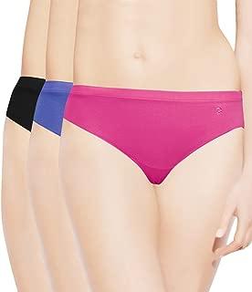 Enamor Women's Plain/Solid Panty (Pack of 3)