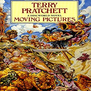 Moving Pictures audiobook cover art