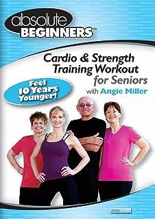 مبتدیان مطلق - تمرین آموزش کاردیو و قدرت برای سالمندان