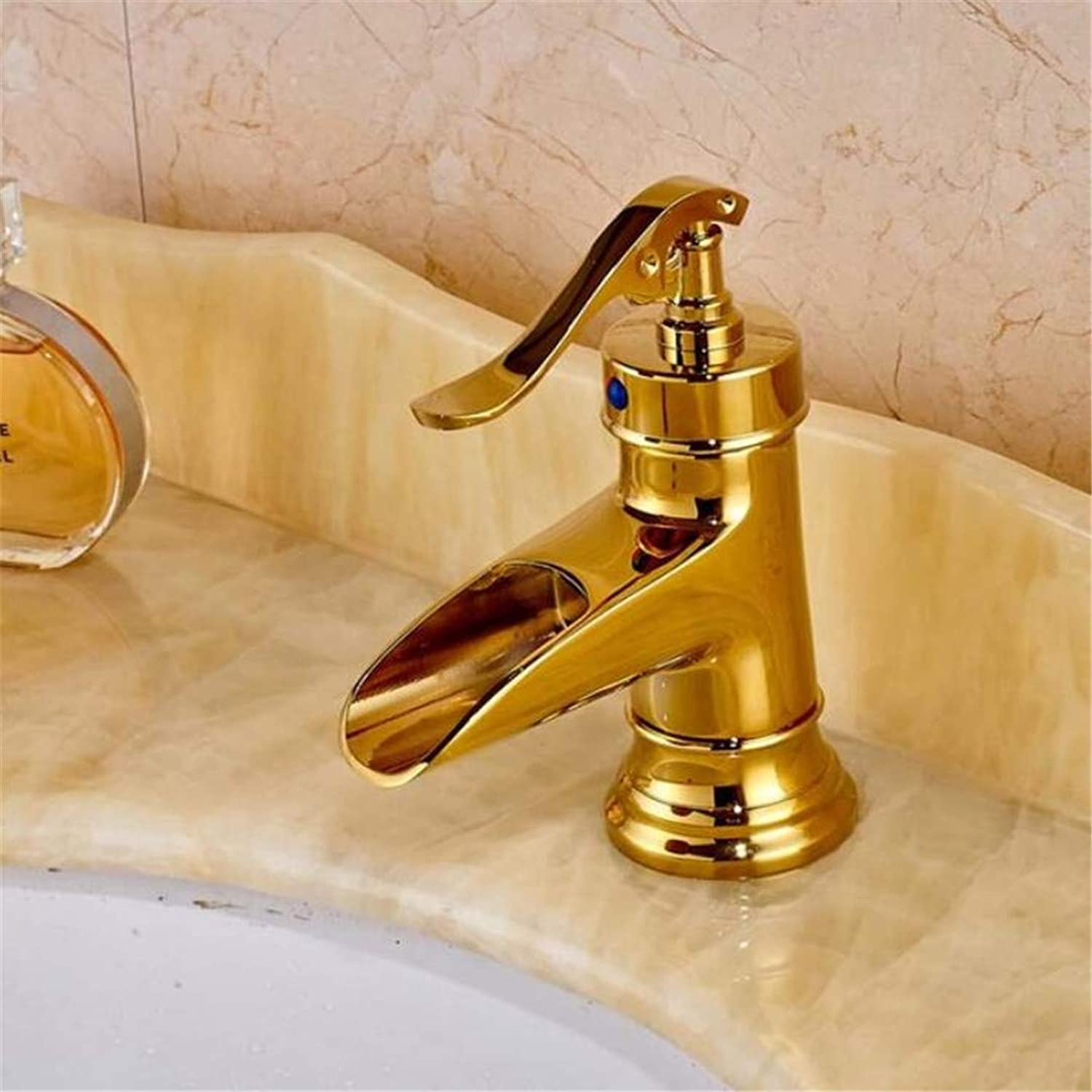 Faucet Washbasin Mixer Antique Brass Deck Mounted Basin Faucet Mixer Tap with Base Plate