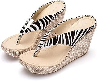 Women's Wedges Flip Flops Platform Sandals Fashion Slipper Summer Thong